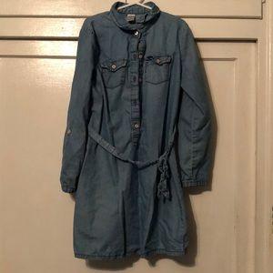 Carters girls size 8 jean dress
